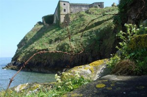 Lower Steps, St Catherine's Fort, Tenby