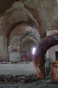 St-Catherines-Fort-052012-Inside-Gunroomandloop
